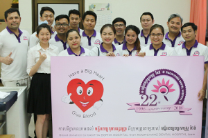 Blood-donate-to-Kuntha-Bopha_Roomchang-in-the-community