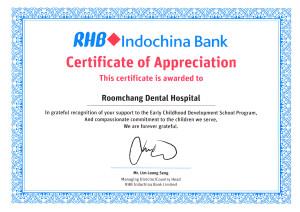 Early childhood development school program_RHB Indochina bank & Roomchang Dental