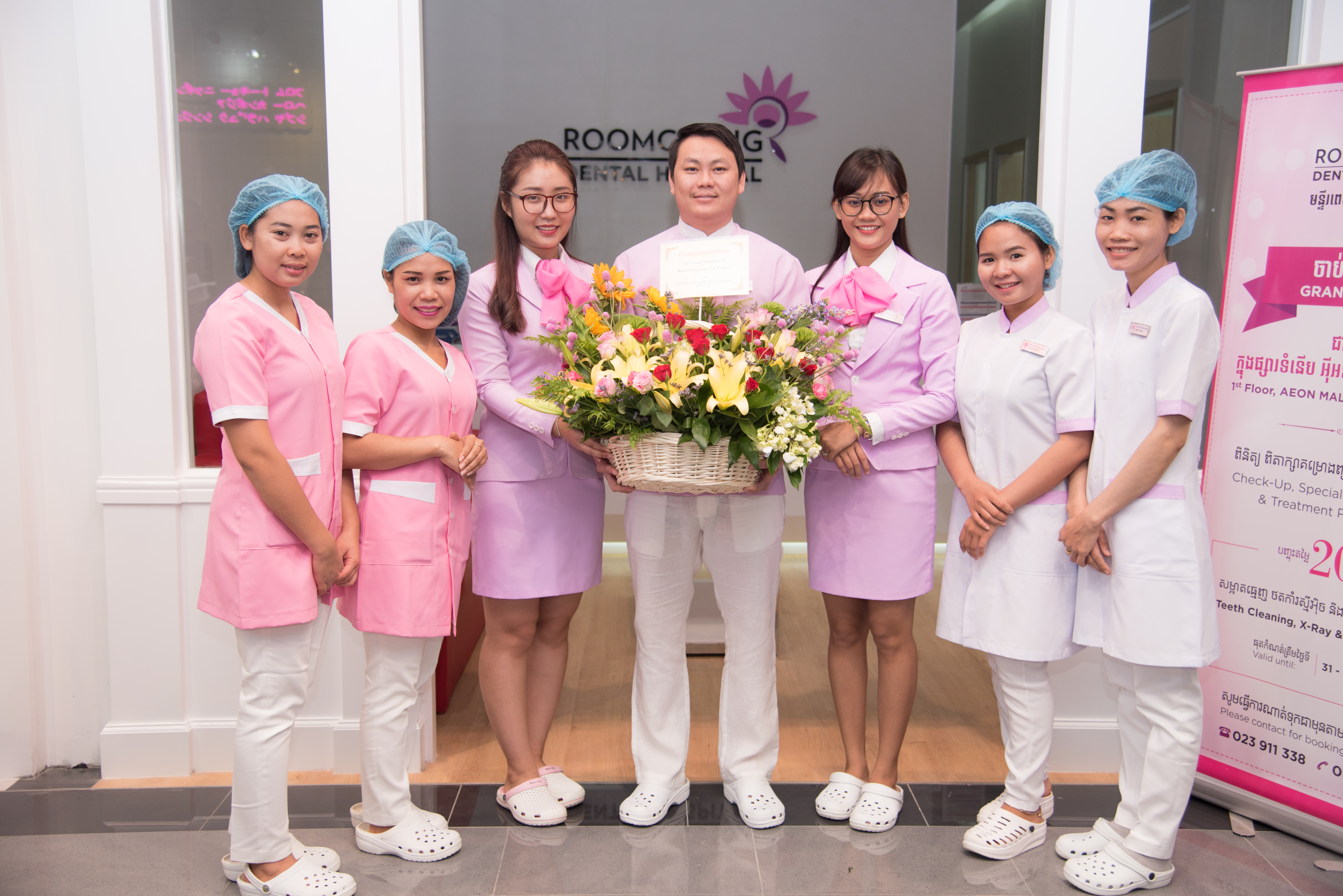 8. Roomchang staff @aeon mall 2